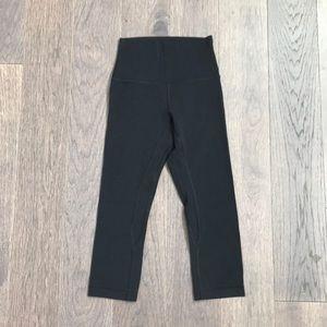 """NWOT 🌈 Align Crop Legging 19"""" Black"""